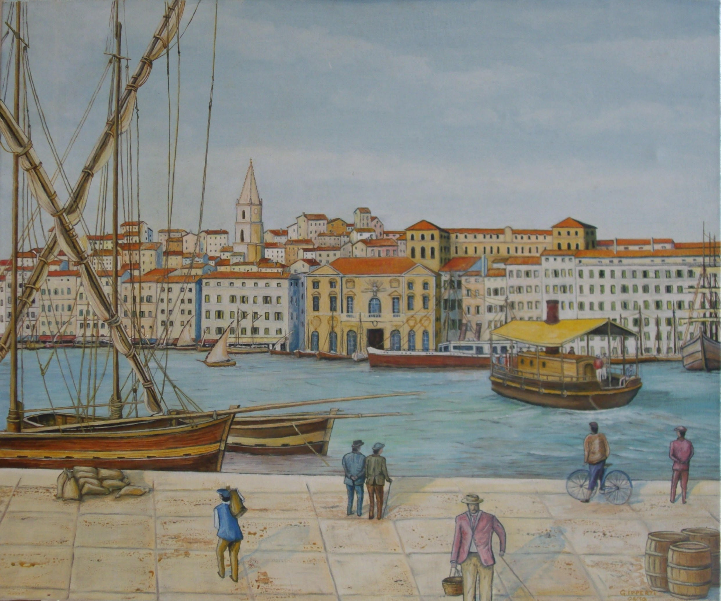 Mairie Ferry Boat Marseille